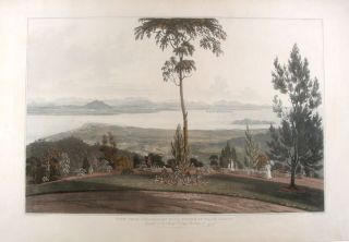 Malaysia] View from Strawberry Hill, Prince of Wale's Island. William . - after Captain Robert...