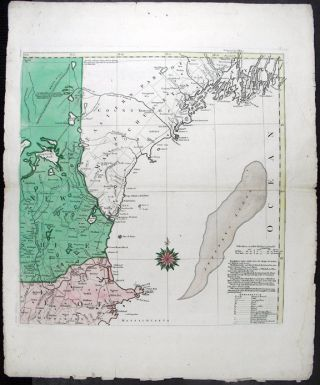 A Map of the most Inhabited part of New England containing the Provinces of Massachusets Bay and New Hampshire, with the Colonies of Connecticut and Rhode Island, Divided into Counties and Townships. The whole composed from Actual Surveys and its Situation adjusted by Astronomical Observations