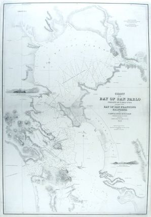 Chart of the Bay of San Pablo Straits of Carquines and part of the Bay of San Francisco...