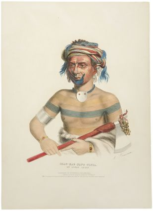 Shau-Hau-Napo-Tinia, An Ioway Chief. Thomas L. MCKENNEY, James HALL