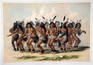 The Bear Dance. George CATLIN