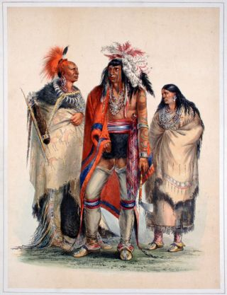 North American Indians. George CATLIN