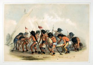 Buffalo Dance. George CATLIN