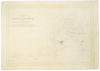 A Chart of the Harbour of Louisbourg in the Island of Cape Breton. J. F. W. DES BARRES