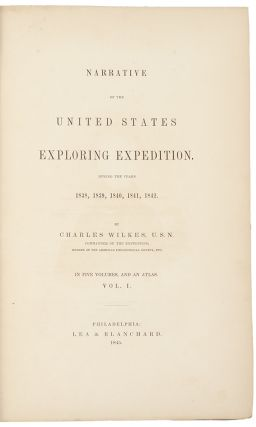 Narrative of the United States Exploring Expedition. During the Years 1838, 1839, 1840, 1841,...