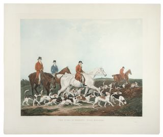 The Earl of Derby's Stag Hounds. After James BERENGER, R. WOODMAN