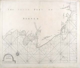 A Large Draught of the South Part of Borneo. John THORNTON, Samuel, fl