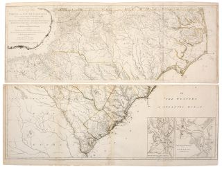 An Accurate Map of North and South Carolina, with their Indian Frontiers, Shewing in a distinct...