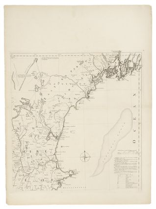 A Map of the most Inhabited part of New England containing the Provinces of Massachusets Bay and New Hampshire, with the Colonies of Conecticut and Rhode Island, Divided into Counties and Townships: The whole composed from Actual Surveys and its Situation adjusted by Astronomical Observations
