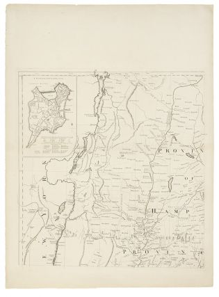 A Map of the most Inhabited part of New England containing the Provinces of Massachusets Bay and...