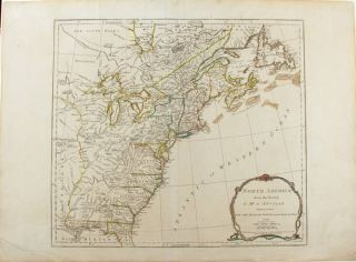 North America from the French of Mr. d'Anville improved with the British Surveys made Since the...