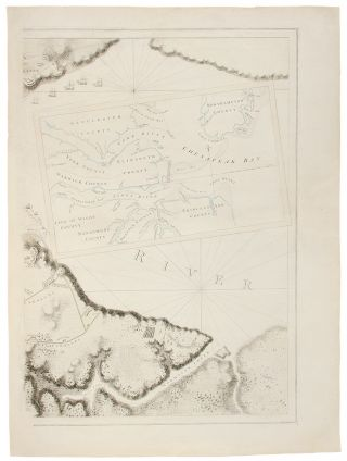 YORKTOWN] [A Plan of the Post of York and Gloucester in the Province of Virginia. Established by...