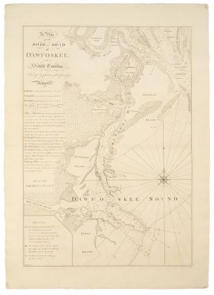 A Plan of the River and Sound of D'Awfoskee, in South Carolina, Survey'd by Captain John...