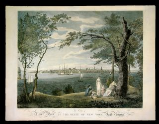 The City of New York in the State of New York, North America. William . - Samuel SEYMOUR BIRCH,...
