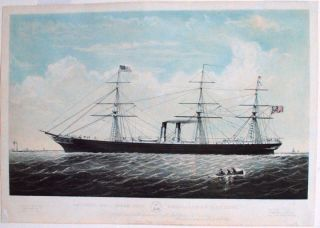 "The Royal Mail Steam Ship ""Australasian"" 3100 Tons, To the British and North American Royal Mail..."