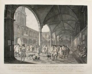 [Pair of Prints] To the Right honorable William Pitt ... this Accurate Perspective View of the...