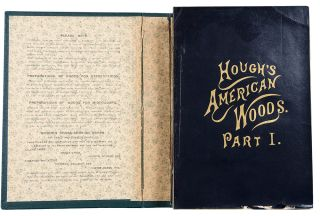 The American Woods, exhibited by actual specimens and with copious explanatory text