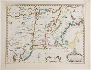 A Map of New England and New York. John SPEED, c
