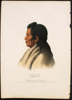 Sha-Ha-Ka, A Mandan Chief. Thomas L. MCKENNEY, James HALL