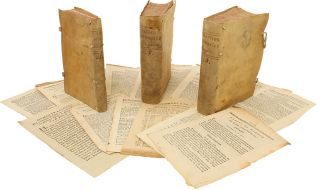 A Bound Collection of 224 South American Imprints, printed in Buenos Aires Between 1807 and...