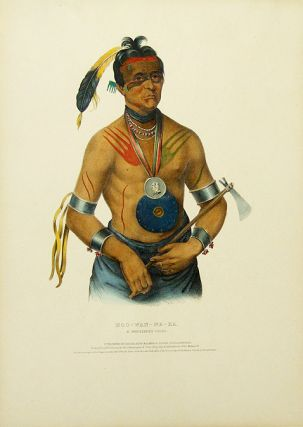 Hoo-Wan-Ne-Ka, a Winnebago Chief. Thomas L. MCKENNEY, James HALL