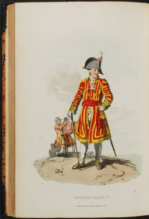 Picturesque Representations of the Dress and Manner of the English. Illustrated in fifty coloured...