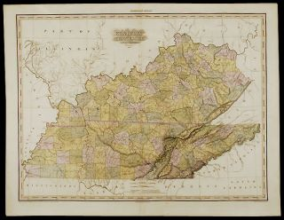 Kentucky and Tennessee ... Improved to 1825. Henry Schenck TANNER