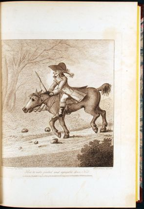 An Academy for Grown Horsemen, containing the completest instructions for walking, trotting, cantering, galloping, stumbling and tumbling. Illustrated with copper plates, and adorned with a portrait of the Author. By Geoffrey Gambado