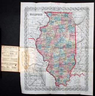 Illinois [with inset: Vicinity of Chicago]