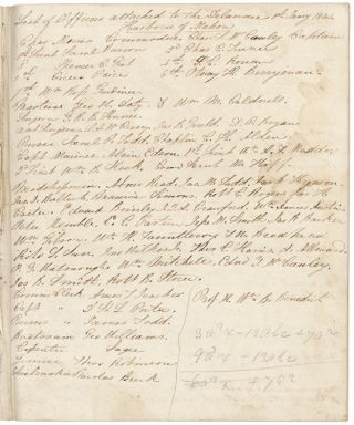 [Manuscript log of the U.S.S. Delaware, kept by Robert Storer, during her final cruise home from the Mediterranean].