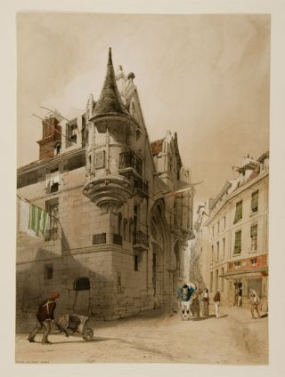 Hotel de Sens, Paris. Thomas SHOTTER BOYS