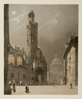St. Etienne du Mont and The Pantheon, Paris. Thomas SHOTTER BOYS