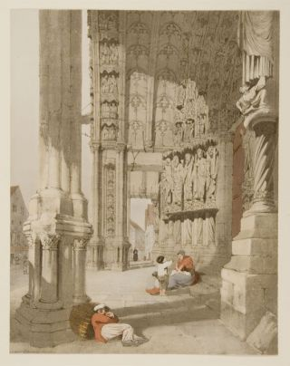 S. Porch de Chartres Cathedral. Thomas SHOTTER BOYS