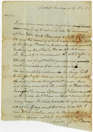 Autograph Letter, Signed, Written to Joshua Hatheway at Rome, N.Y. By General Jacob Brown...