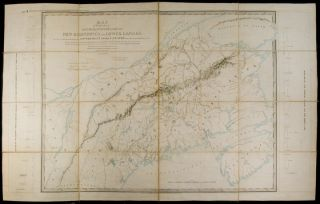 North American Boundary : Maps A and B, appended to the report of the British Commissioners,...