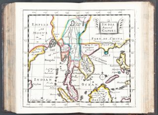 A New Systeme of Geography, designed in a most plain and easy method, for the better understanding of that science. Accommodated with new mapps, of all the ... countreys in the whole world. With geographical tables explaining the divisions in each mapp. By John Seller, hydrographer to the king]