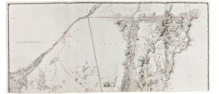 A Chorographical Map of the Province of New-York in North America, divided into counties, manors,...