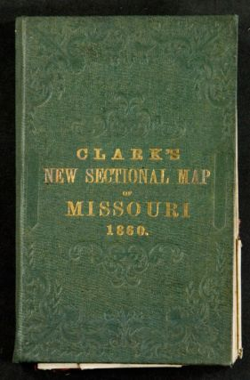 Clark's New Sectional Map of Missouri compiled & engraved from the United States land surveys and other reliable sources