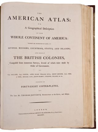 The American Atlas: or, a geographical description of the whole continent of America: wherein are...
