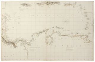 Chart of the West Indies and Spanish Dominions in North America ... To Admiral John Willett Payne, A distinguished Native of the West Indies ... This Chart is respectfully Dedicated by his most obedient Servt. A. Arrowsmith
