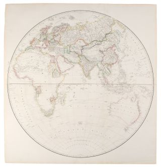 [Map of the World on a Globular Projection, Exhibiting Particularly the Nautical Researches of...