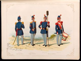 Regulations for the Uniform & Dress of the Army of the United States. June 1851. From the original text and drawings in the War Department