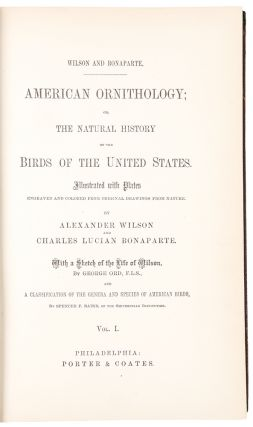 American Ornithology; or, the Natural History of the Birds of the United States ... With a sketch...