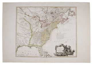 The United States of North America: with the British Territories and those of Spain, according to...
