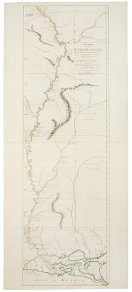 Course of the Mississippi from the Balise to Fort Chartres; taken on an Expedition to the...