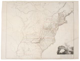 A Map of the United States of North America Drawn from a number of Critical Researches. Aaron...