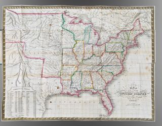 Map of the United States constructed from the latest authorities. C. S. WILLIAMS