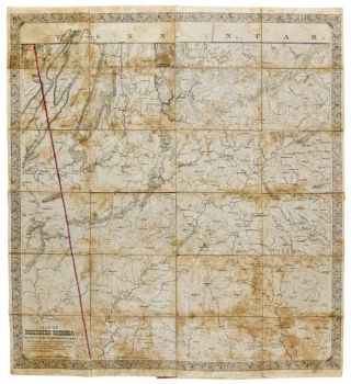Map of Northern Georgia, made under the Direction of Capt. W. E. Merrill. CIVIL WAR, - W. E. MERRILL