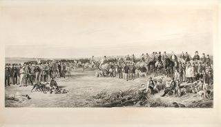 THE WATERLOO COURSING MEETING. Samuel William after RICHARD ANSDELL REYNOLDS, 1815 - 1885