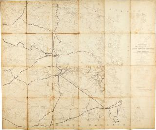 Copy of an Unfinished Map of a Portion of the Military Department of North Eastern Virginia and Fort Monroe compiled in the Bureau of Topographical Engineers War Department from the best and latest authorities ...